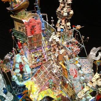 A magnificant display at the Edmonton Art Gallery. I want to miniaturize and live in this thing.