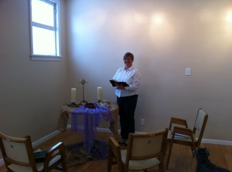 The Secret-Chapel-In-the-Corner of St. Mary's NEW conference centre.