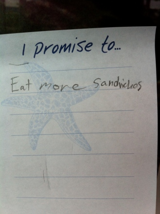 Love this kid's take on saving the world.