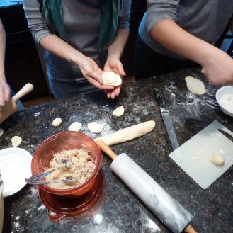 Perogy making fest