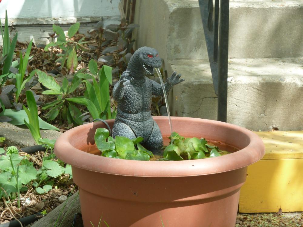 Godzilla in Old Strathcona