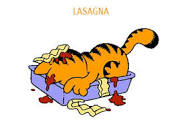 Garfield Lasagna